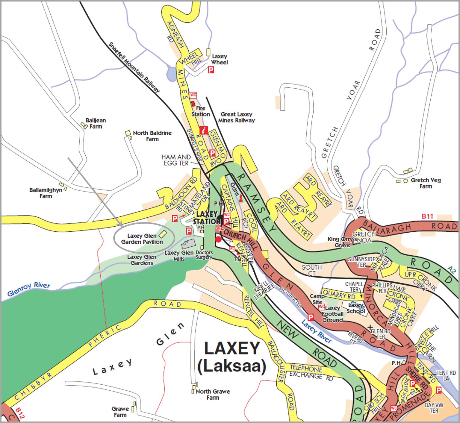 Laxey Glen Pavilion