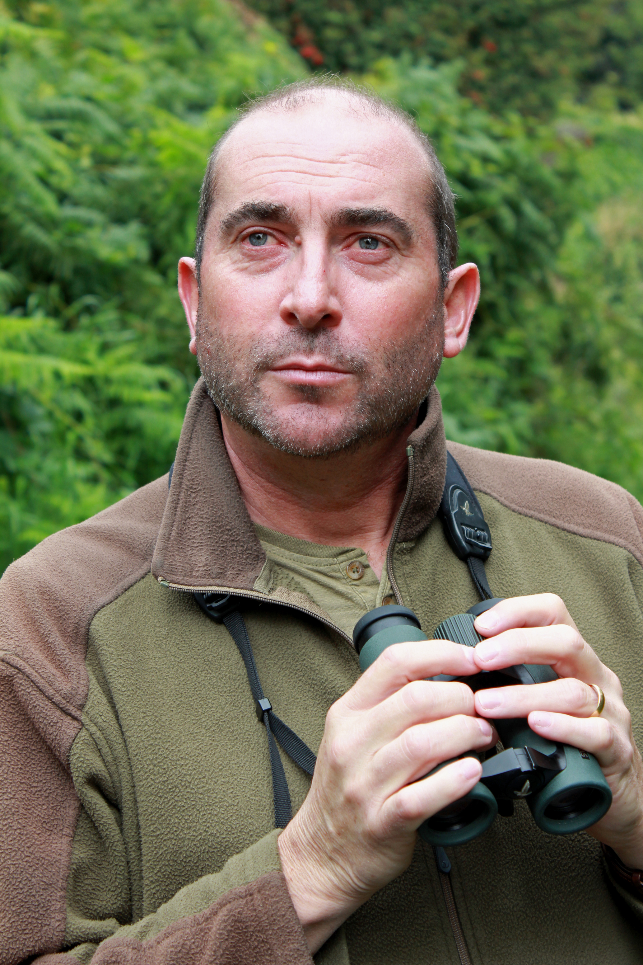 Neil G Morris, Managing Director of Manx BirdLife