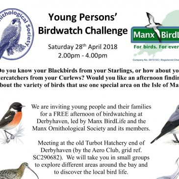 Young Persons' Birdwatch Challenge!