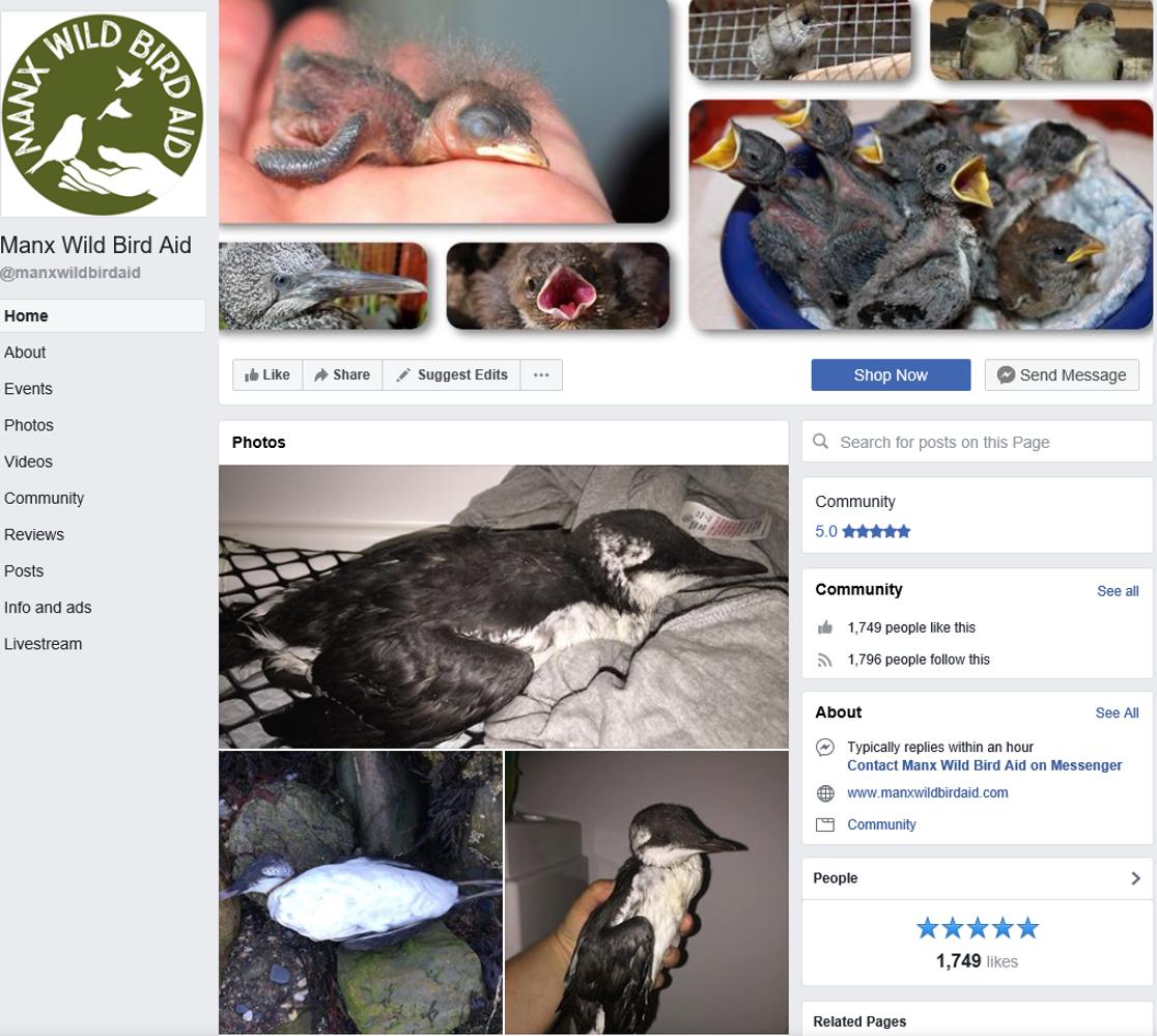 Manx Wild Bird Aid