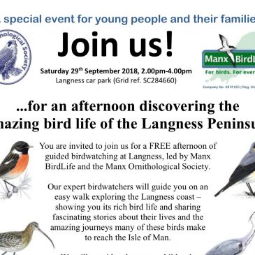 A special event for young people and their families