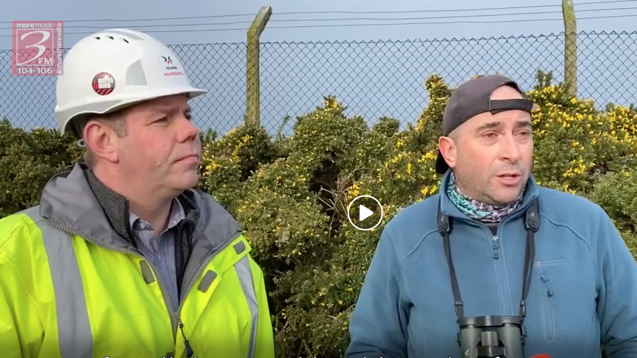 3FM Interview with Stephen Smyth, Island Aggregates, and Neil Morris, Manx Birdlife