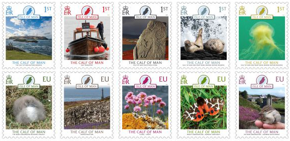 MNH Calf of Man stamp issue April 2021